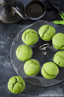 Green Muffin recipe
