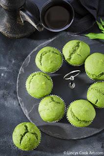 Green Muffin recipe