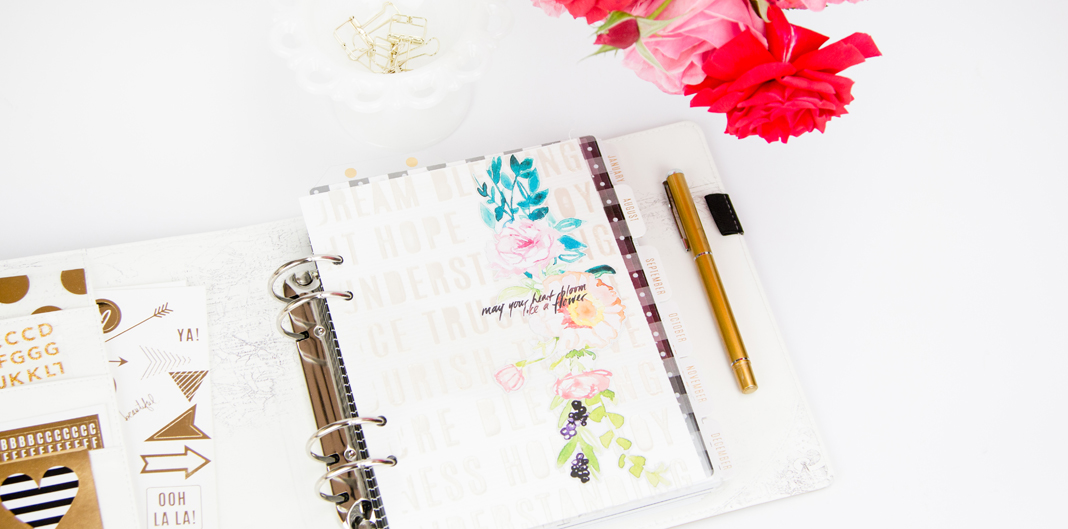 Custom DIY Planner Dashboards by @createoften