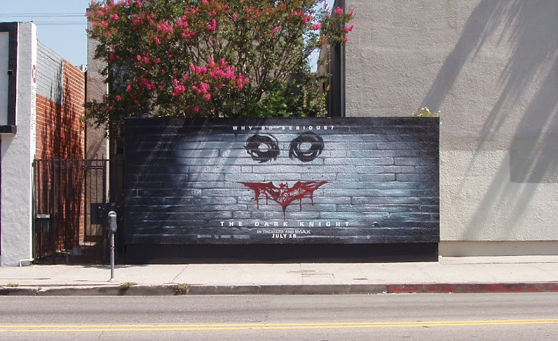 Why so Serious? Dark Knight billboard