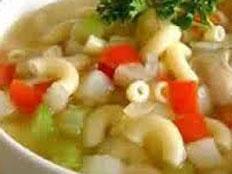Resep praktis (mudah) sup makaroni spesial (istimewa) segar enak, gurih, sedap, nikmat lezat