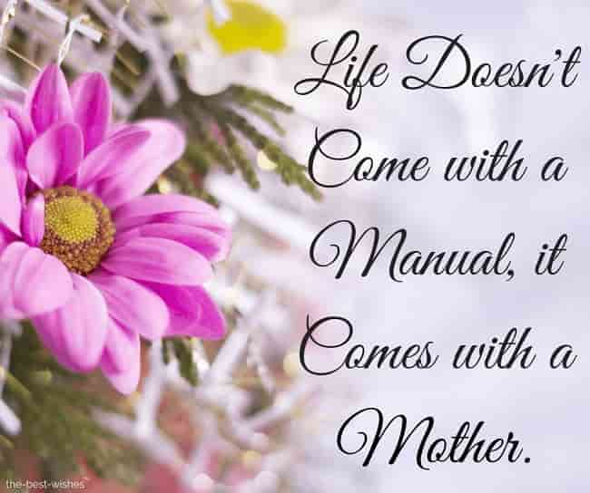 a good mothers day message quote