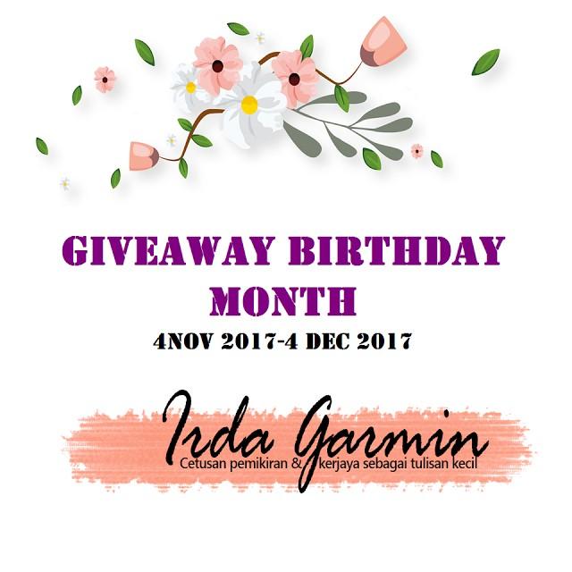 Giveaway Pertama Dari Blog IrdaGarmin