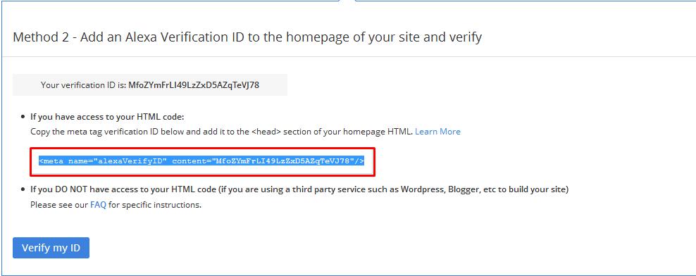 copy code verifikasi alexa