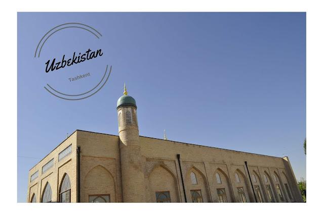 DISCOVERING MY FIRST 'STAN : TASHKENT IN  UZEBEKISTAN
