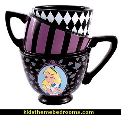 Alice in Wonderland Sculpted Mug