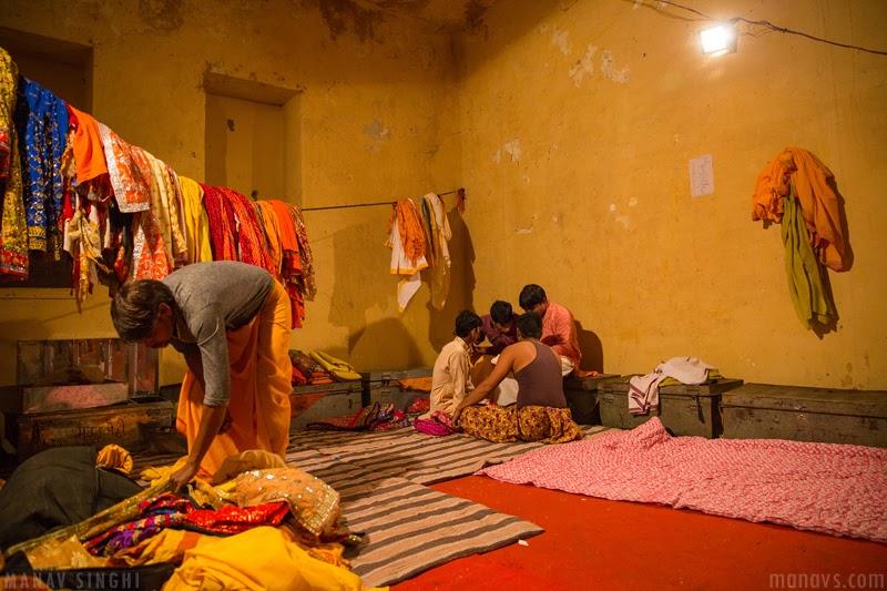RamLeela or Ramlila Actor getting ready Ram leela Maidan Jaipur