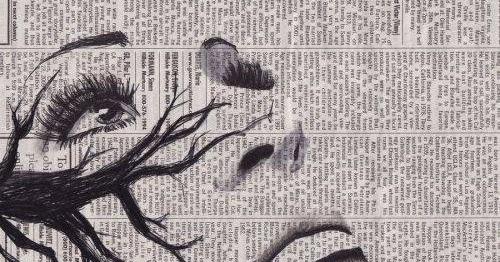 Vi va neva art of black and white ☆