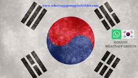 Korean WhatsApp Group Join Link List