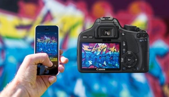 Perbedaan kamera DSLR vs kamera HP / smartphone