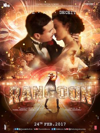 Rangoon 2017 Hindi 480p DVDRip 400MB