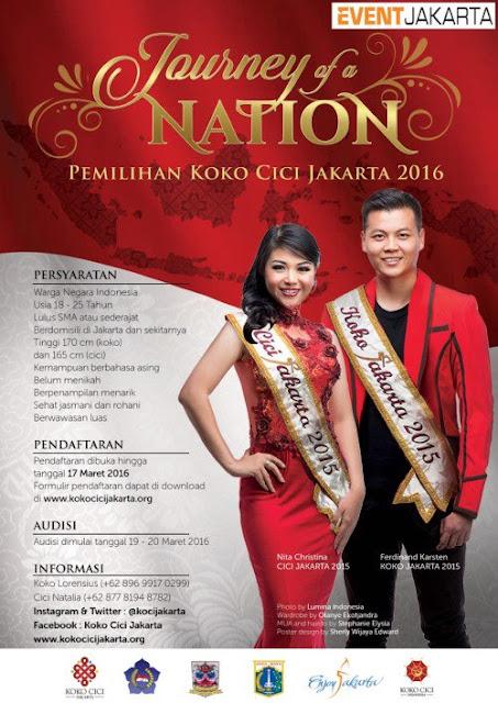 Pemilihaan Koko Cici Jakarta 2016