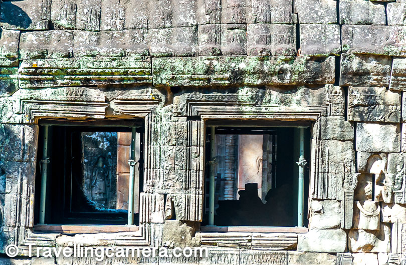 If you notice closely there are these iron rods used to provide support too many of the structures around Angkor Wat Heritage area. It was sad to see the state of these beautiful temples which were built in 12th Century.