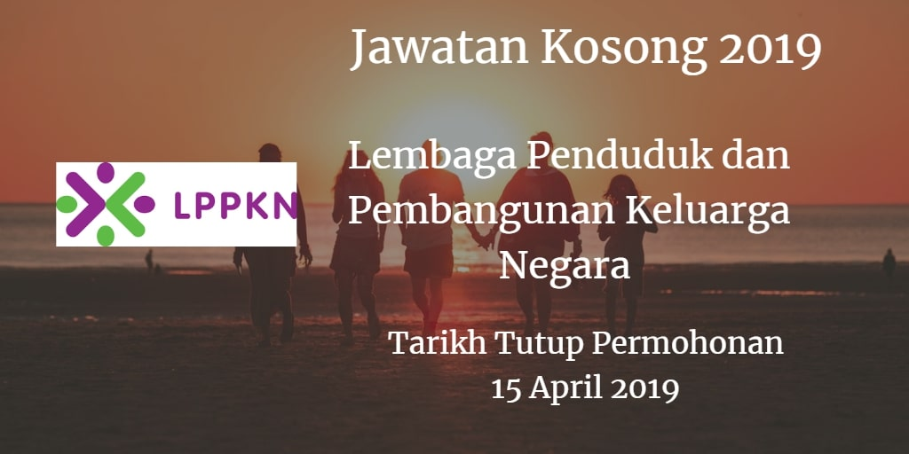 Jawatan Kosong LPPKN 15 April 2019