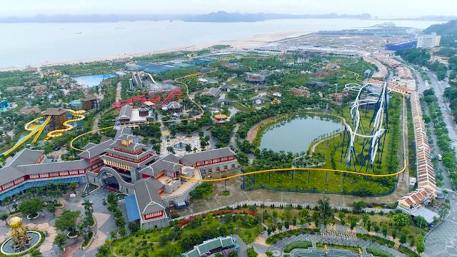 Công viên giải trí Sun World của Sun Group