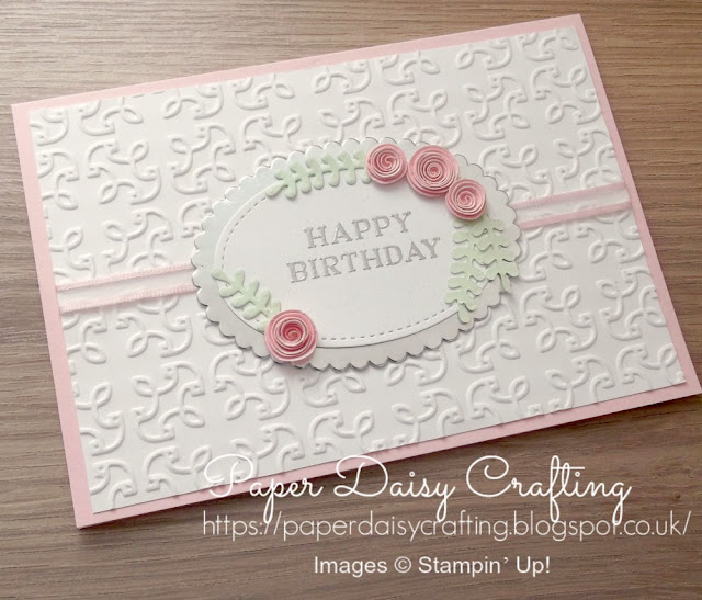 Beautiful bouquet by Stampin' Up!