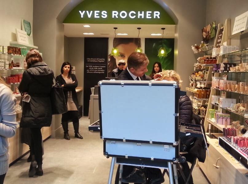 Cabina Estetica Yves Rocher : Golden backstage yves rocher apre un atelier a milano in corso