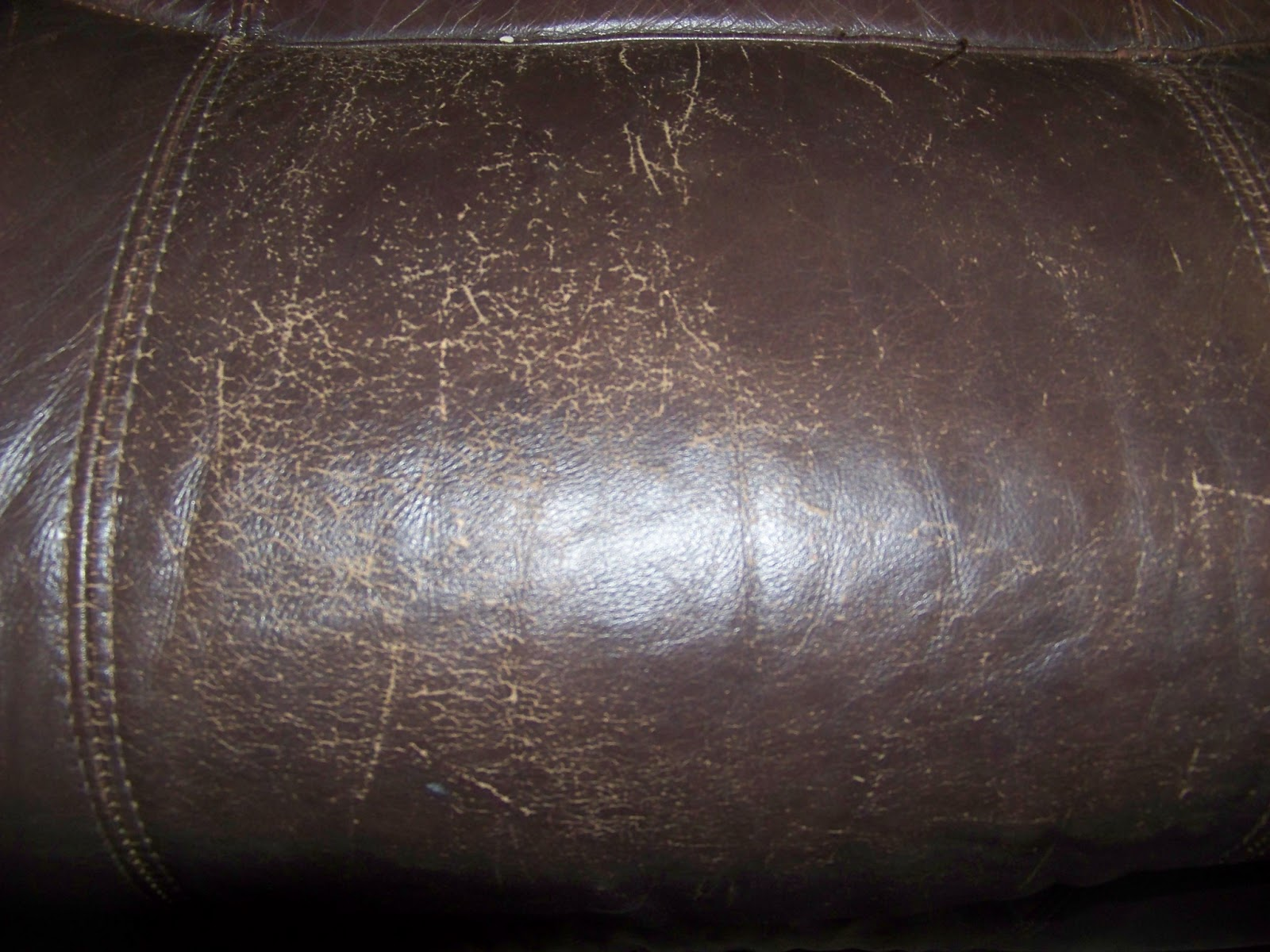 The Sunset Lane Repairing Worn Leather With Shoe Polish