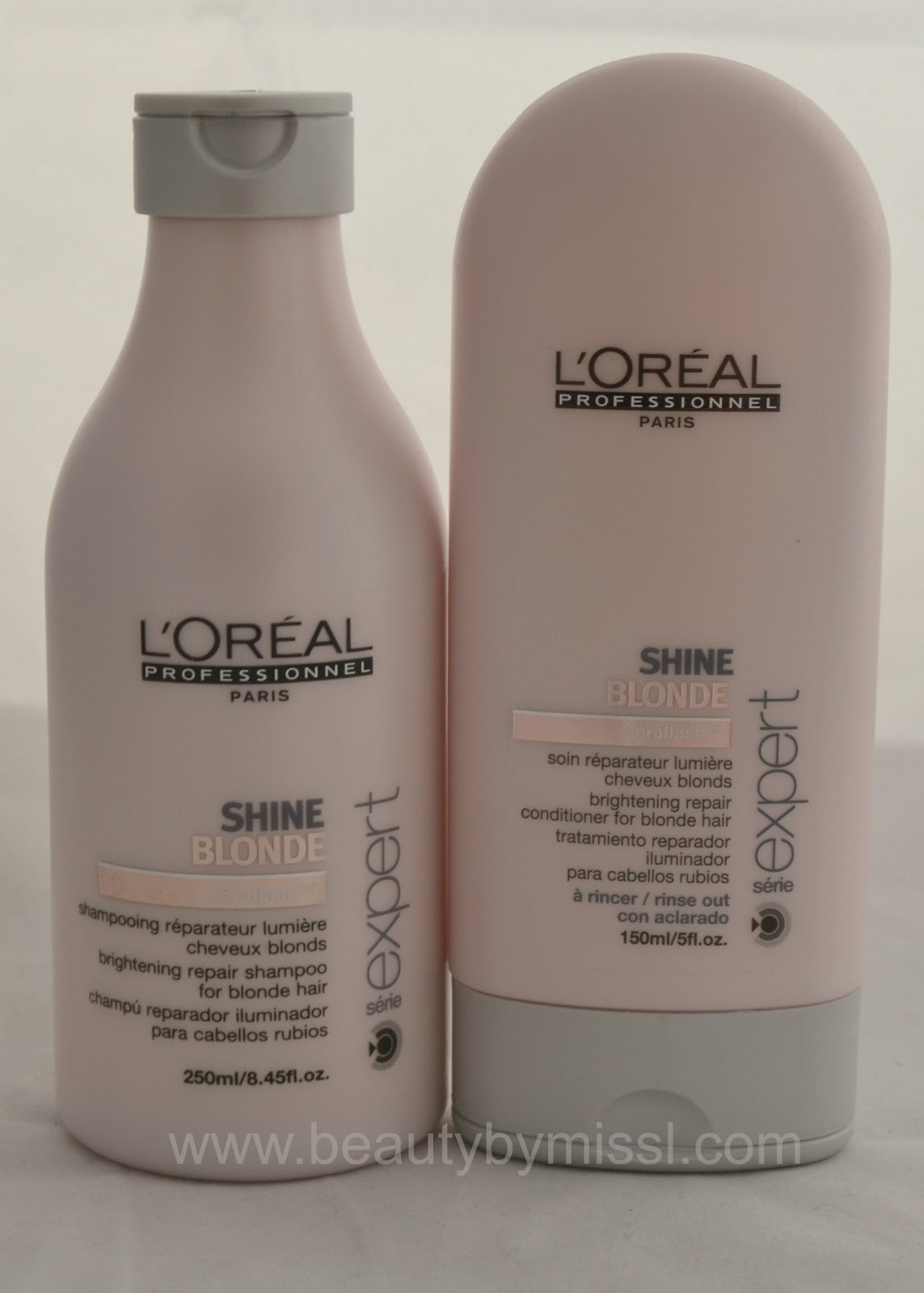 hair care, L´Oreal Professional Shine Blonde products, juuksehooldus