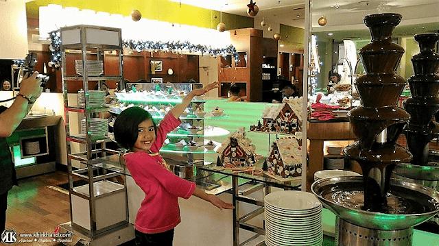 Buffet Krismas, Big Apple Restaurant, Berjaya Times Squares Hotel, Kuala Lumpur,