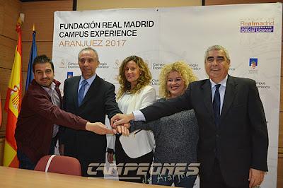 colegio litterator aranjuez fundación real madrid