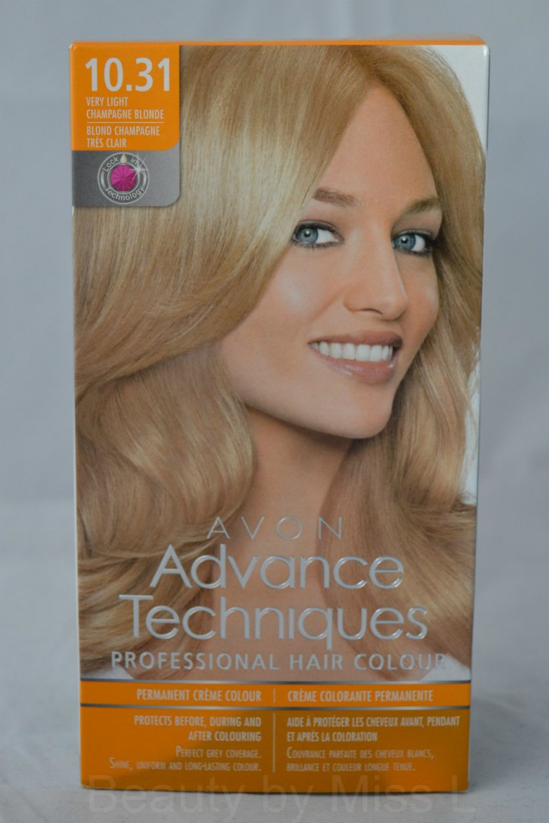 AVON Advance Techniques blond juuksevärv