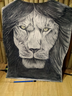 Lion Tattoo, Leo Tattoo, Full Back tattoo, big tattoo, tattoo artist for full back
