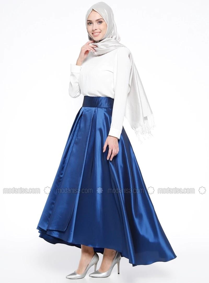 Robe hijab turque de soirée style 2018