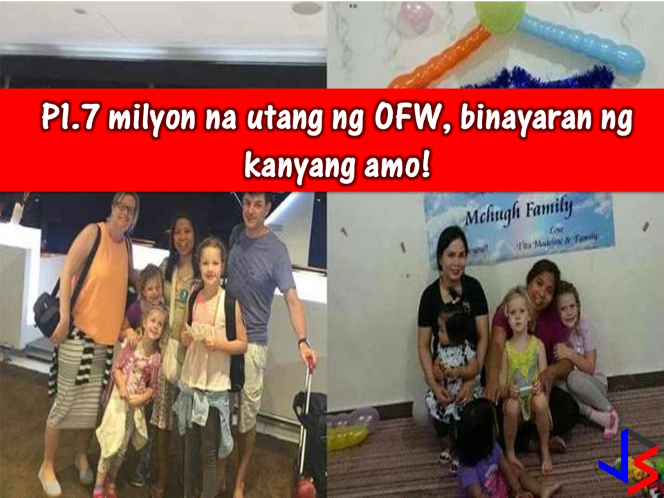 Horror stories of Overseas Filipino Workers (OFWs) around the world is a common story. But in spite of this, there are also some inspiring stories of OFWs and their employers that warms our hearts.    Read: This Savings Bank Offers Free Opening Account and Free Accident Insurance