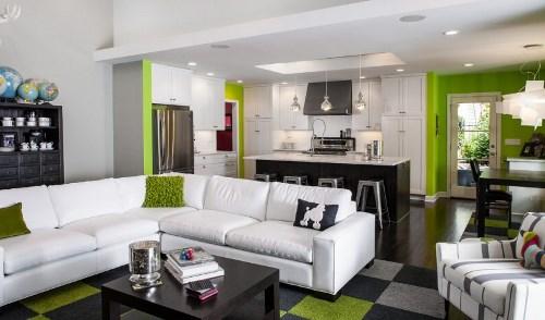 Menata Ruang Tamu Yang Menyatu Dengan Ruang Keluarga
