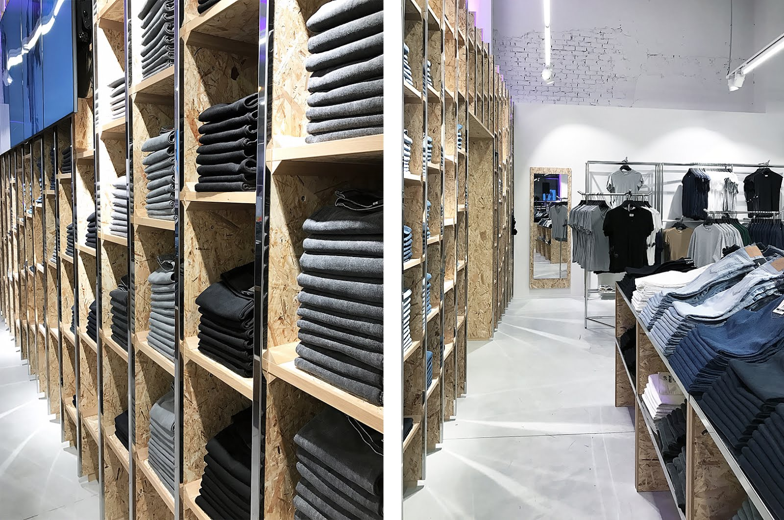 Weekday, antwerp, kammenstraat, opening, denim