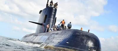 Οι Αμερικανοί λένε ότι εντόπισαν στον Ατλαντικό το χαμένο υποβρύχιο της Αργεντινής