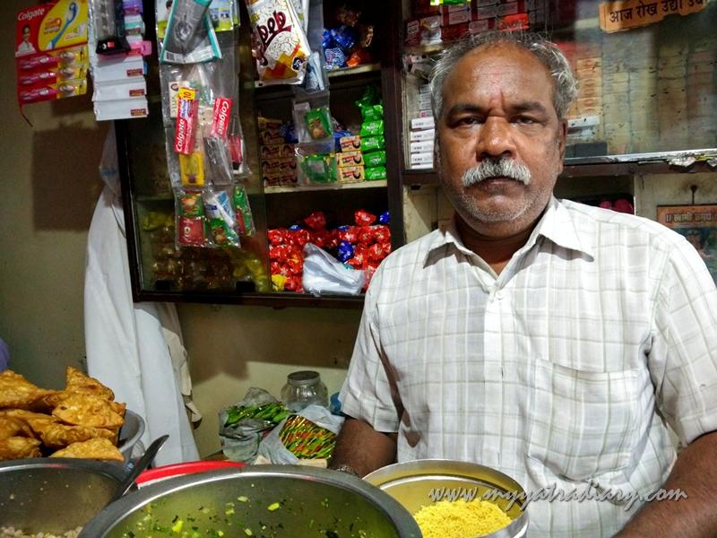 Appa at Amruteshwar Bhawan In Pune