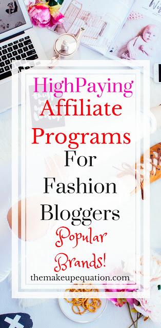 Fashion Affiliate Programs for Fashion Bloggers