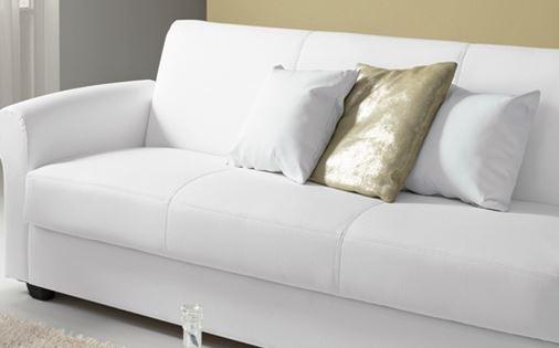 Arredo a modo mio floris il divano letto mondo for Divano letto bianco