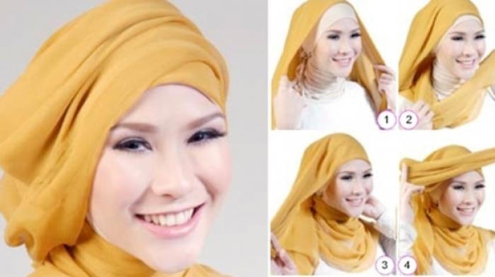 30 Tutorial Hijab Hari Raya Lebaran Idul Fitri, Ramadhan ...