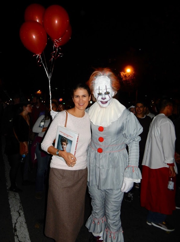 Weho Halloween Pennywise clown costume