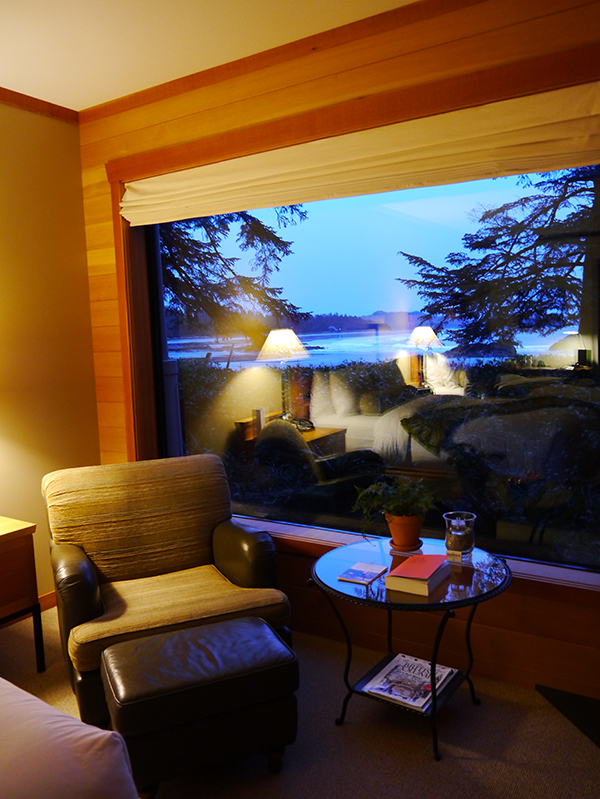 Room in Wickaninnish Inn, Tofino, BC