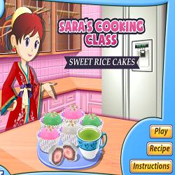 Saras Cooking Class Sweet Rice Cakes