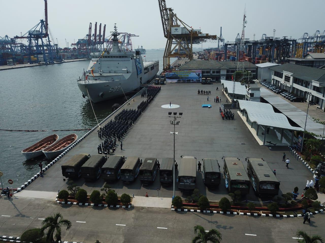 Kapal Kemanusiaan Lombok, Wujud Sinergi ACT dengan TNI AL