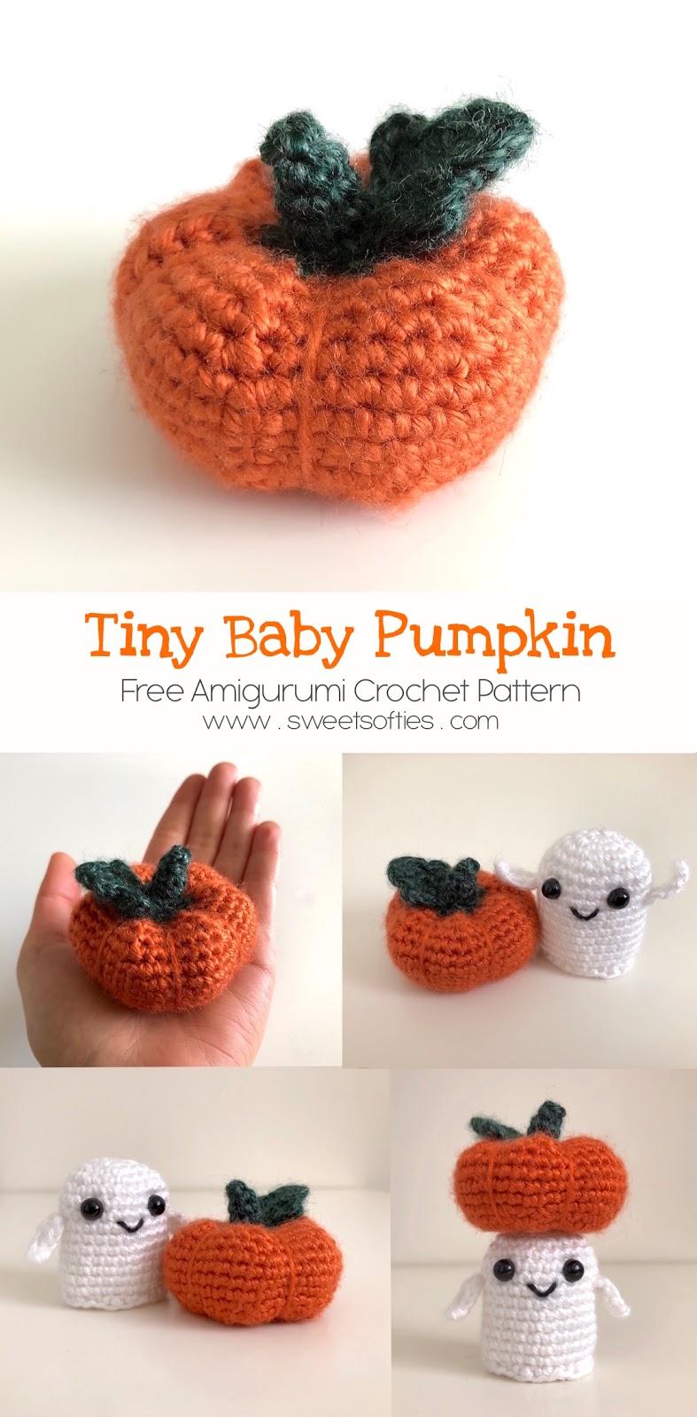 Tiny Baby Pumpkin Free Crochet Pattern Sweet Softies Amigurumi