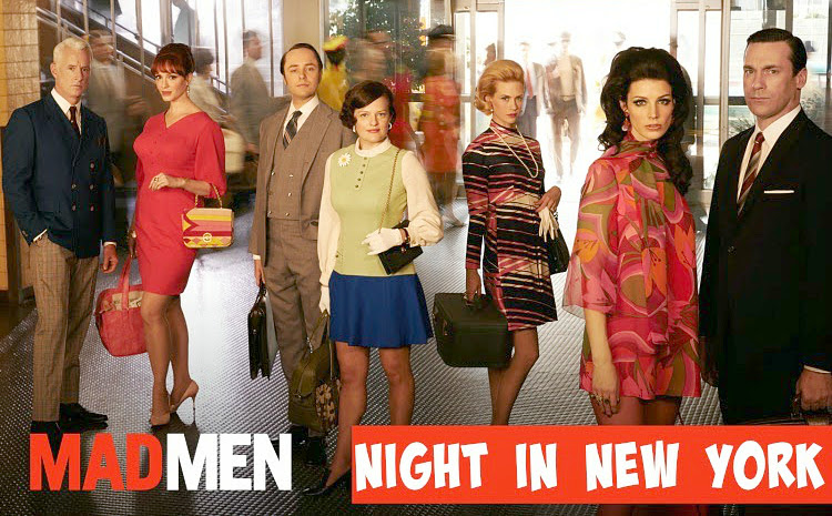 A Vintage Nerd, Vintage Blog, Mad Men, 1960s New York, Man Men in New York, 1960s TV Shows 1960s Fashion, Museum of Moving Image