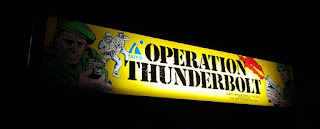 Operation Thunderbolt, the sequel to Operation Wolf. We played both games at Arcade Club