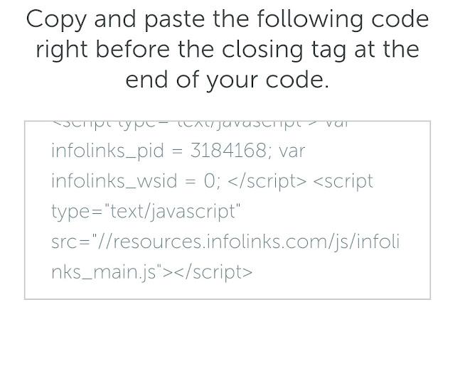 Kode infolinks