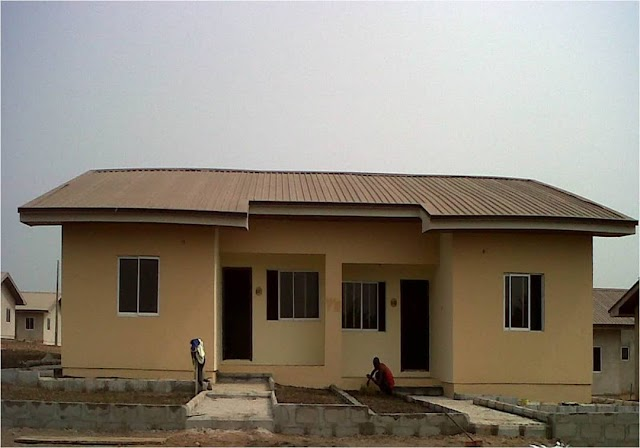 CHOIS CITY, AGBOWA, IKORODU, LAGOS (SEMI DETACHED BUNGALOWS FOR SALE)