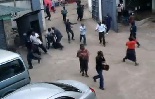 Heartless Robbers Attack Church, beat pastor's wife, guard