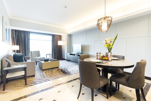 One-Bedroom Deluxe Suite at Ascott Makati Manila Philippines