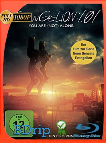 Evangelion 1.0 You Are (Not) Alone (2007) BDRIP 1080p Latino [GoogleDrive] SilvestreHD