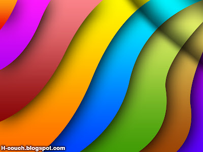 Download Rainbow background free { PSD }