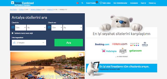 Antalyada ucuz oteller ve fiyatları
